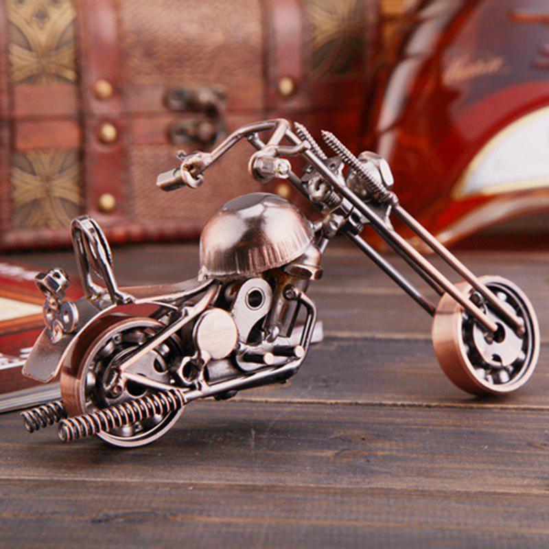 Affordable Metal Wrought Iron Motorcycle Model European Ornaments