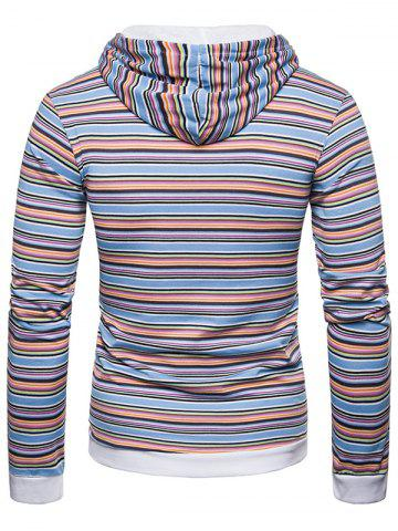 6ef64a1718b Striped Sleeves Hoodie - Free Shipping, Discount and Cheap Sale ...