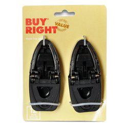 Novel Convenient To Use Small Bite Black High-strength Plastic Mouse Clip -