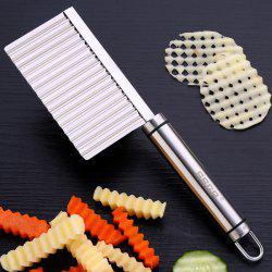 Stainless Steel Potato Cut Corrugated Knife Cutter -