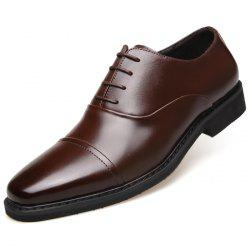 MUHUISEN Three-joint Men's Shoes Business Dress Shoes With Men's Shoes -