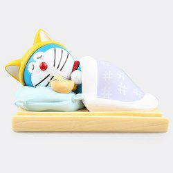 Sleeping Doraemon Mobile Phone Stand Hand Model Decoration -