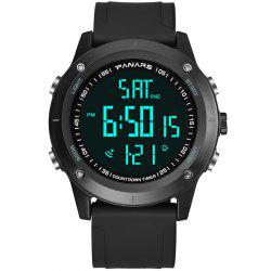 PANARS 8014 Countdown Fashion Multi-function Outdoor Sports Running Men Electronic Watch -
