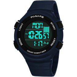 PANARS 8102 Sleek Minimalist Sports Outdoor Multi-function Waterproof Running Men Watch with Box -