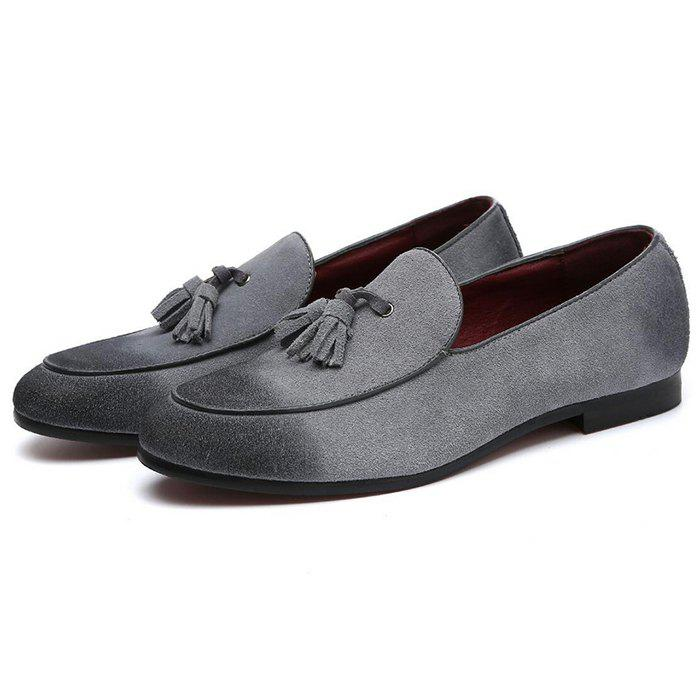 Cheap Men's Shoes Suede Leather Casual Flat