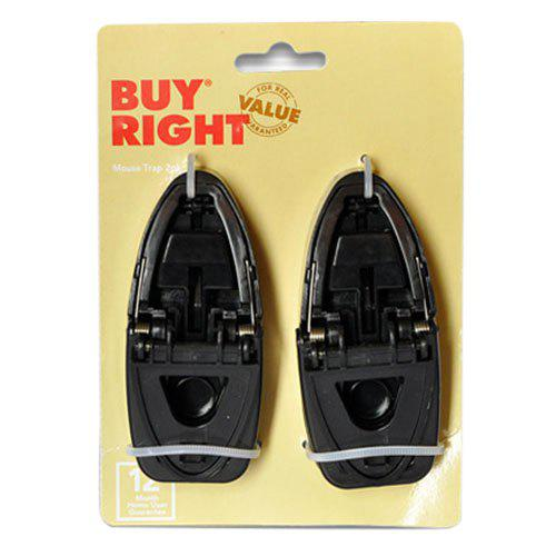 Shop Novel Convenient To Use Small Bite Black High-strength Plastic Mouse Clip