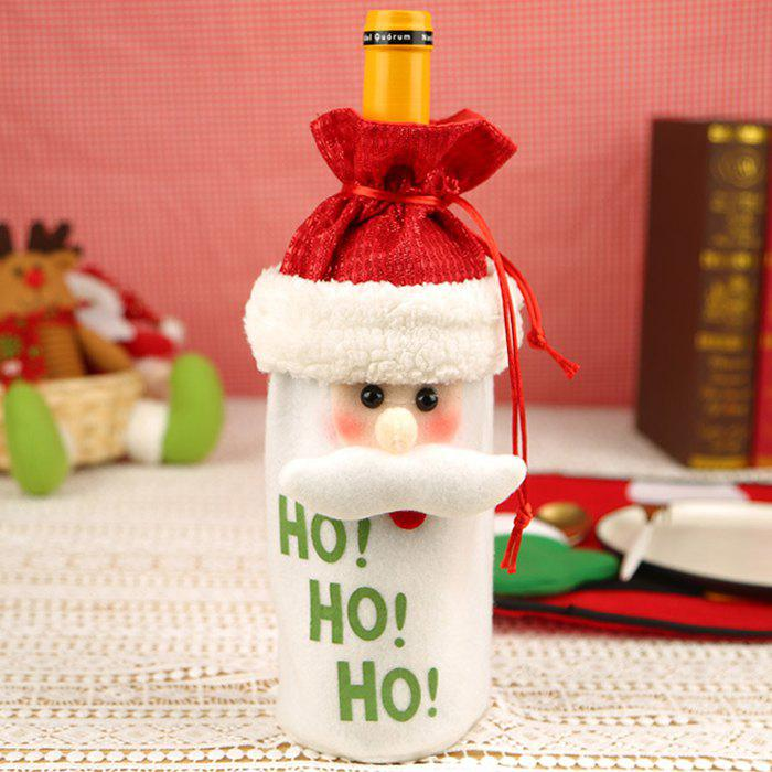 Christmas Wine Bottle Bag Santa Claus Christmas Champagne Wine Bottle