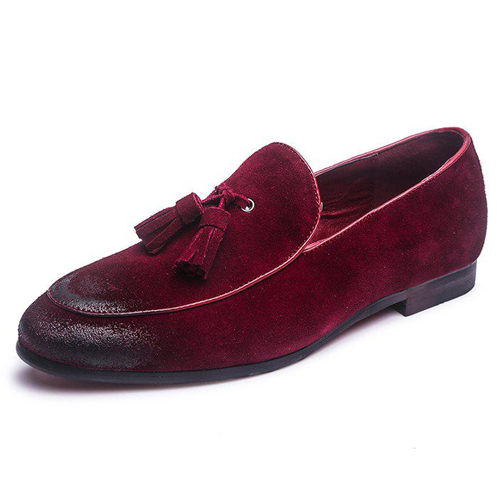 Discount Men's Shoes Suede Leather Casual Flat