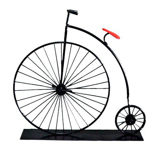 Affordable Mini Bicycle Model Ornaments Retro Classic Car Creative Iron Crafts for Gift