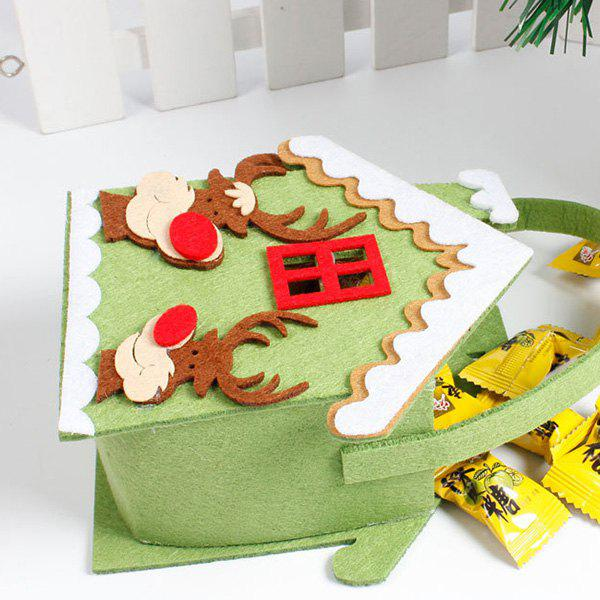 Outfits Creative Cartoon Non-woven Christmas Candy Gift Bag Christmas Decoration