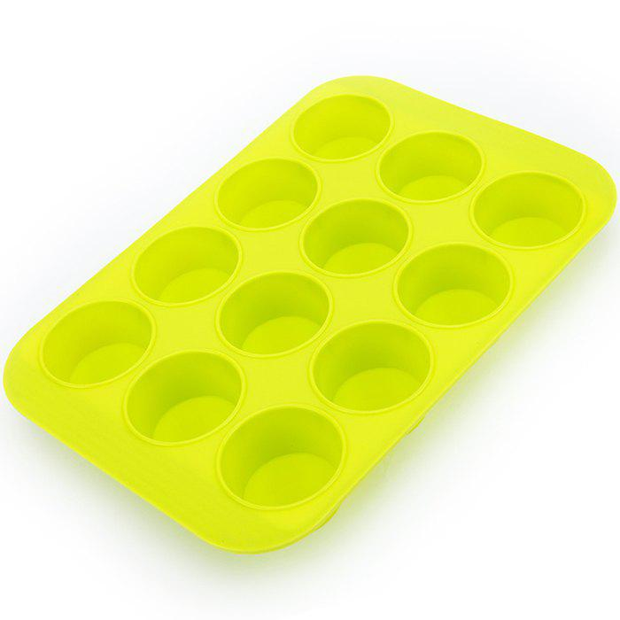 Outfits SG116 Silicone Muffin Cup 12 With Mold