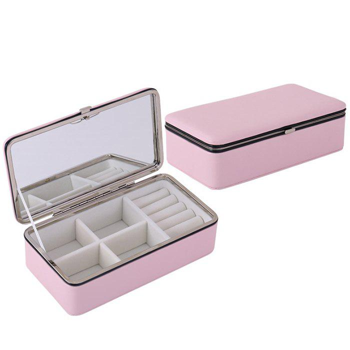 Affordable PU Portable Earrings Ring Jewelry Storage Box