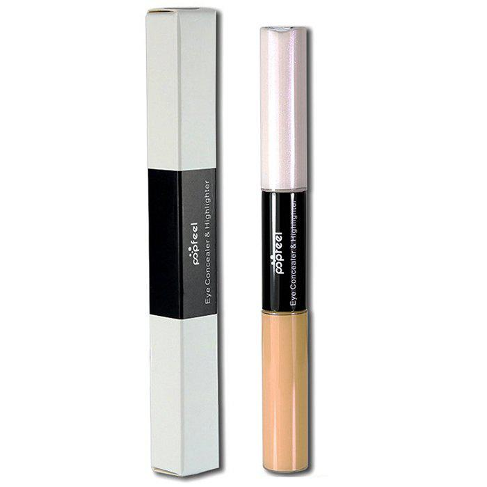 POPFEEL EB01 Double-headed Liquid Concealer Кристаллический крем