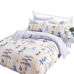 Home Textile Combed Cotton High-density Comfort Kit Sheet Quilt Pillowcase -