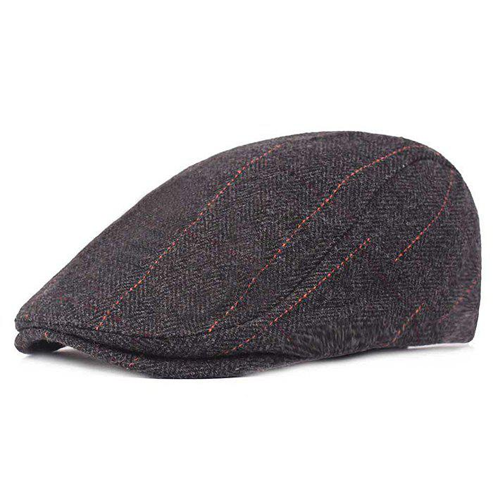 Online Men Warm Peaked Cap Autumn and Winter Style