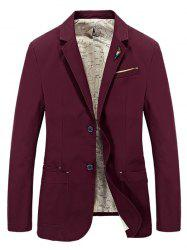 Men Casual Large Size Fashion Suit Jacket -