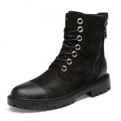 Men Comfortable Boots Casual High-top Wearable -