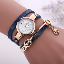 XR1297 PU Strap Ladies Bracelet Watch -