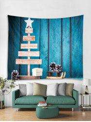 Merry Christmas Star Gift Tapestry Art Decoration -
