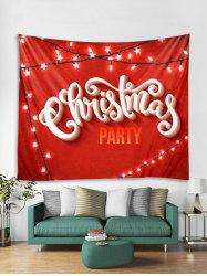 Christmas Party Tapestry Art Decoration -