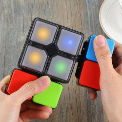 Illuminated Electric Game Magnetic Cube -
