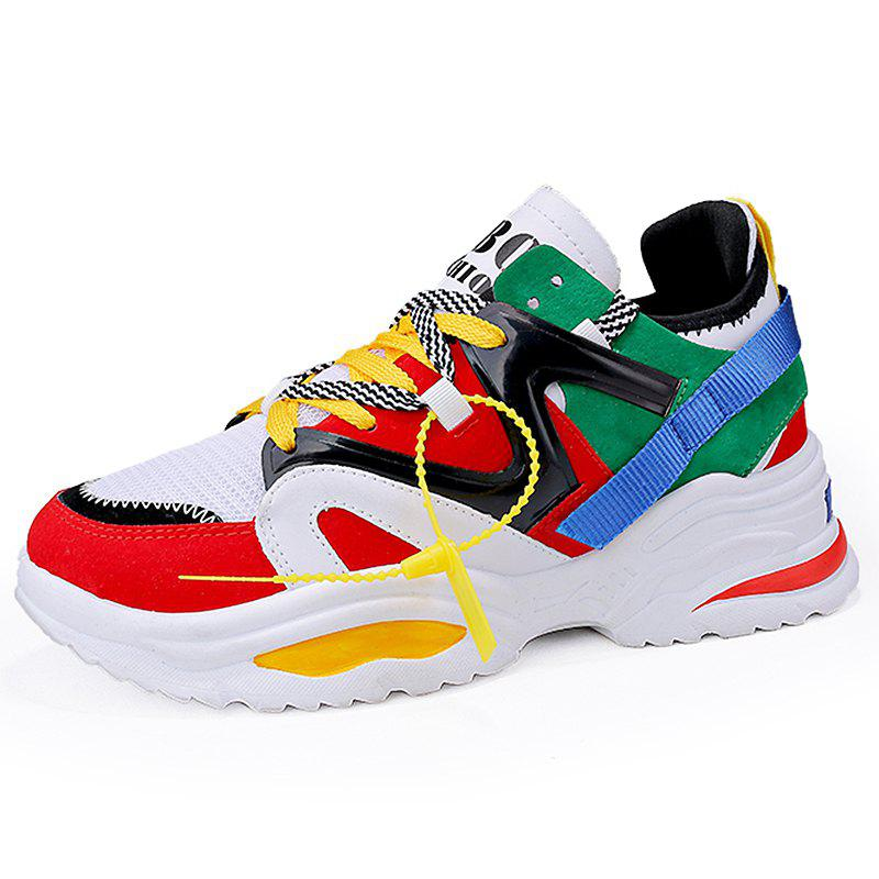 Hot SYXZ 0125 2018 Men's Sports Shoes Color Matching