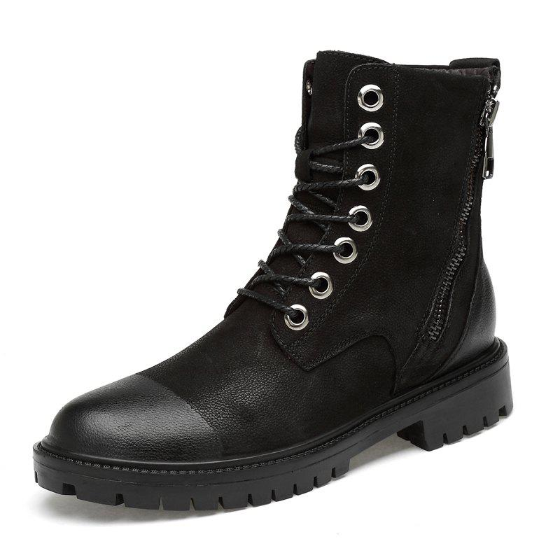 Buy Men Comfortable Boots Casual High-top Wearable