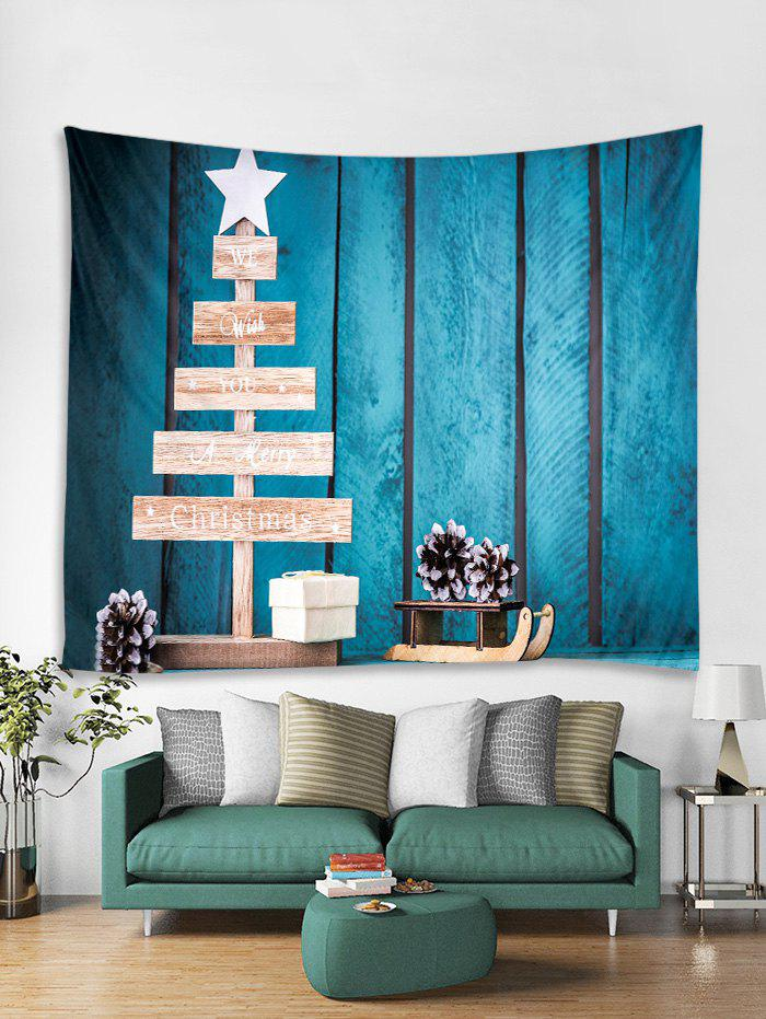 New Merry Christmas Star Gift Tapestry Art Decoration