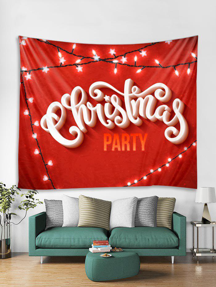 Chic Christmas Party Tapestry Art Decoration