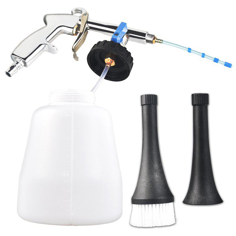 Online High Pressure Car Cleaning Gun Portable Interior Deep-cleaning Tool with Brush