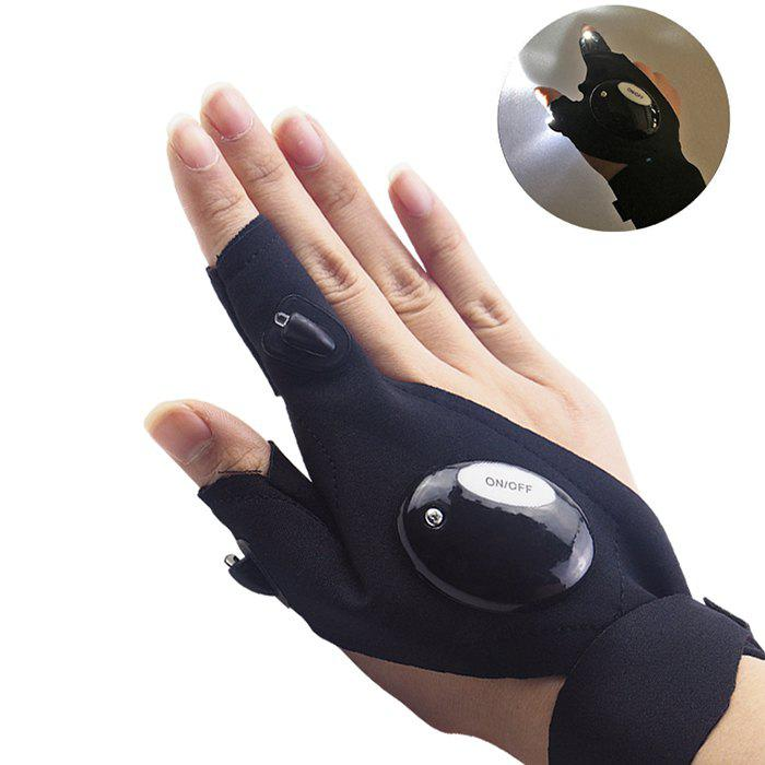 Affordable z20 Fishing Survival Camping Hiking Rescue Glowing Gloves