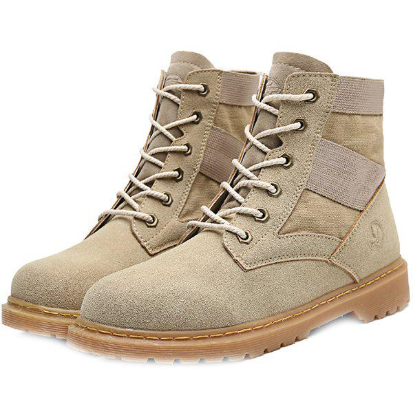 Outfit Men's Retro Army Shoes