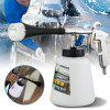 High Pressure Car Cleaning Gun Portable Interior Deep-cleaning Tool with Brush -