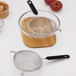 Practical Stainless Steel Colander 2pcs -