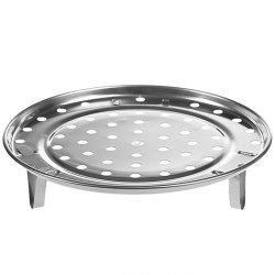Multifunctional Stainless Steel Steamer Kitchen Three-foot Steamed Buns Steamed Buns Steamed Dish Shelf Water Steamer Steamed Tablets -