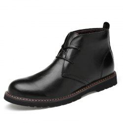 High-top Casual Men Boots Leather Shoes -