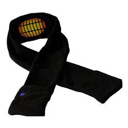 Adjustable Temperature Rechargeable Electric Heating Warm Scarf -