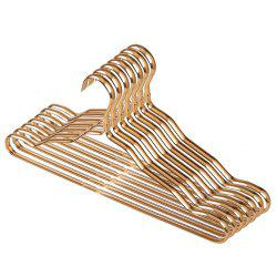 Thicken Space Aluminum Alloy Hangers Home No Trace Anti-skid Racks Wet And Dry Clothes Support Adult Wardrobe Clothes Rack 7pcs -