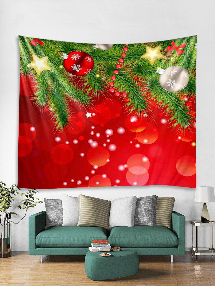 Latest Christmas Snowflake Ball Star Tapestry Art Decoration