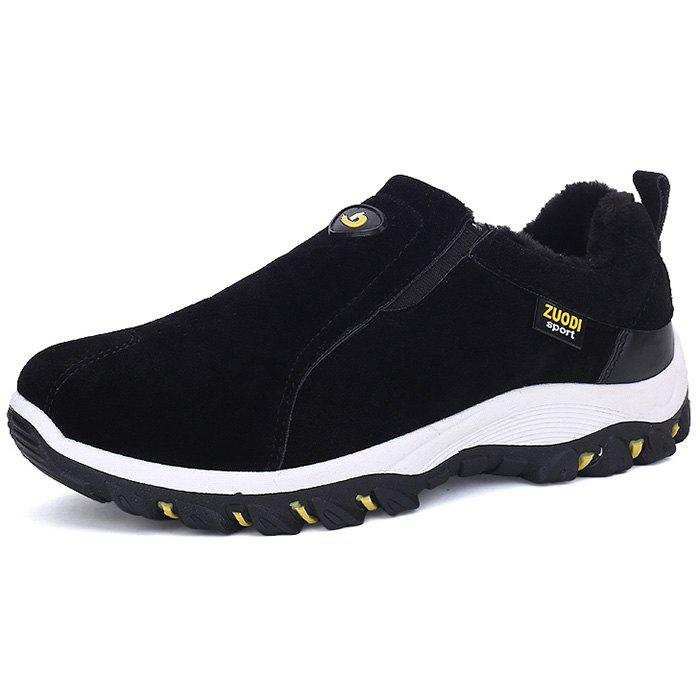 Fashion ZEACAVA Plus Size Outdoor Slip-on Hiking Shoes for Men