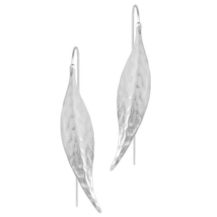Shops Female Personality Creative Simple Original Leaves Wild Fashion Earrings