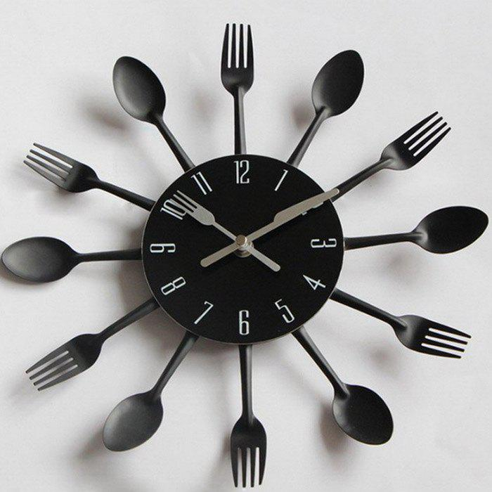 Best Creative Stainless Steel Knife Fork Wall Clock