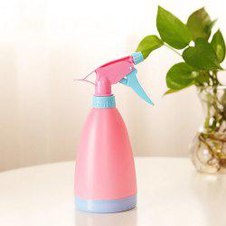 Watering Can Plastic Hand Pressure Adjustable Water Spray Bottle -