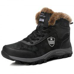 Plus Size Plus Velvet High-top Snow Boots -
