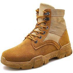 Autumn And Winter High Boots Tooling Shoes -