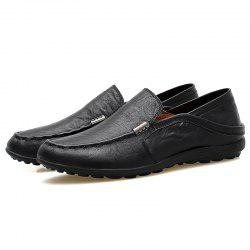 Men Slip-on Flat Shoes Comfortable Soft Durable -