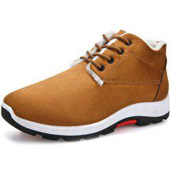 Winter Warm Cotton Plus Velvet Casual Sports Men Shoes -