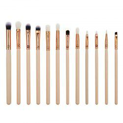 Макияж Кисть Eye Shadow Eyeliner 12pcs -