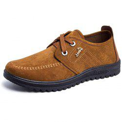 Fashion Men Casual Business Leather Shoes -
