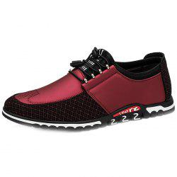 Men Microfiber Leather Trend Casual Shoes -